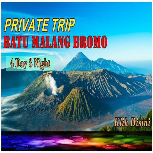 Trip Bromo Batu Malang 4D3N