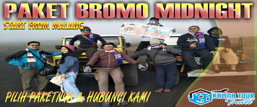 Private Trip Bromo Midnight